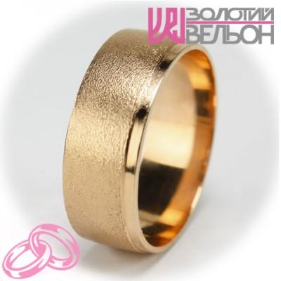 Мужское обручальное кольцо 450-2V024M
