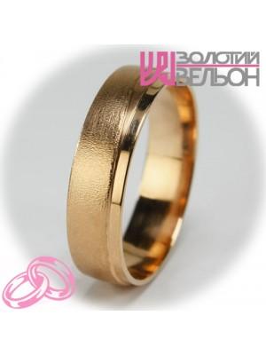 Мужское обручальное кольцо 450-2V025M  ♂