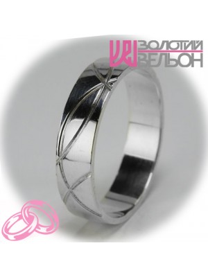 Men's wedding ring 550-2F001 ♂