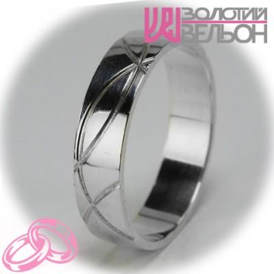 Мужское обручальное кольцо 550-2F001 ♂