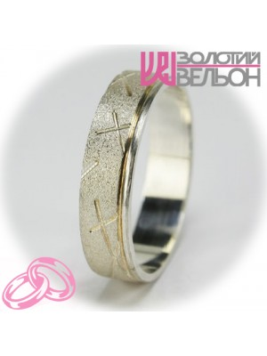 Men's wedding ring 550-2F002 ♂