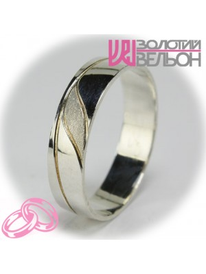 Men's wedding ring 550-2F003 ♂