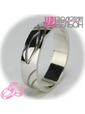Men's wedding ring 550-2F005 ♂