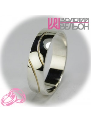 Men's wedding ring 550-2F006 ♂