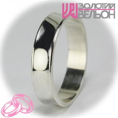Мужское обручальное кольцо 550-2F007