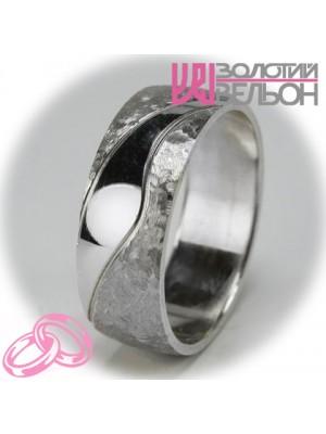 Мужское обручальное кольцо 550-2F013 ♂