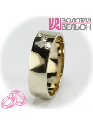 Women's wedding ring with diamond 551-2Z001 ♀