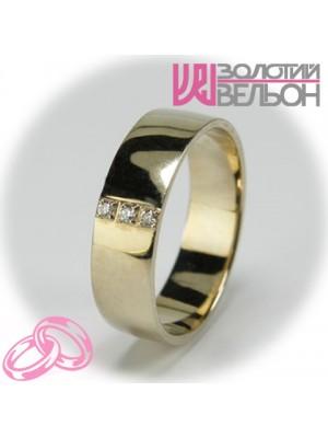 Women's wedding ring with diamond 551-2z002 ♀