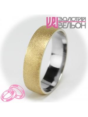 Мужское обручальное кольцо 750-2V014M ♂