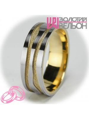 Мужское обручальное кольцо 850-2V001