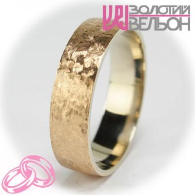 Мужское обручальное кольцо 950-2V004 ♂