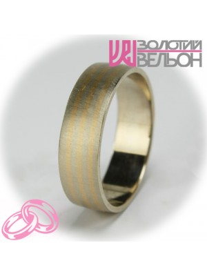 Men's wedding ring 950-2V030 ♂