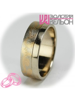 Men's wedding ring 950-2V034 ♂