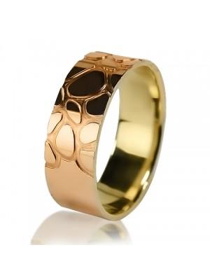 Комбинированное обручальное кольцо 150-2V016