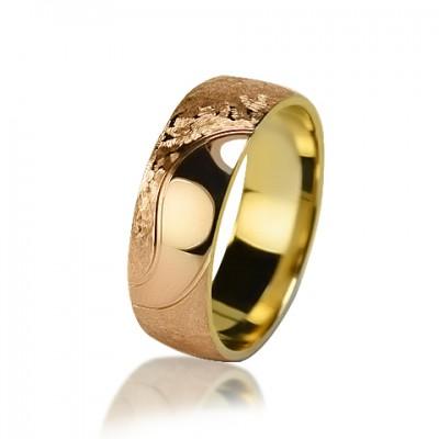 Мужское обручальное кольцо 150-2V031