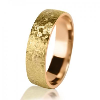Мужское обручальное кольцо 250-2V004
