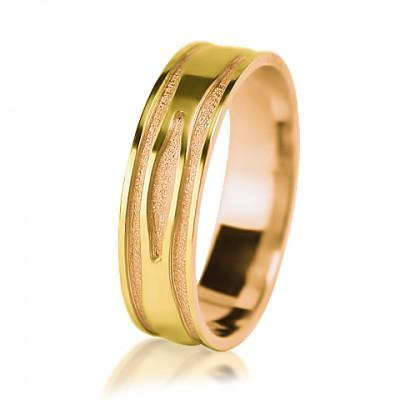 Мужское обручальное кольцо 250-2V013