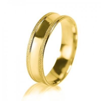 Женское обручальное кольцо 350-2D023