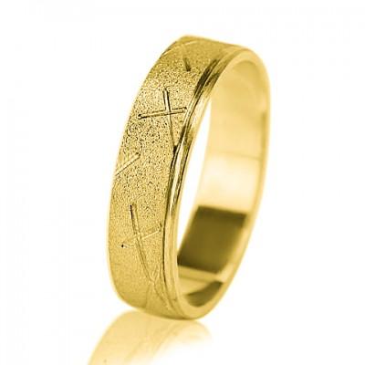 Мужское обручальное кольцо 350-2F002 ♂