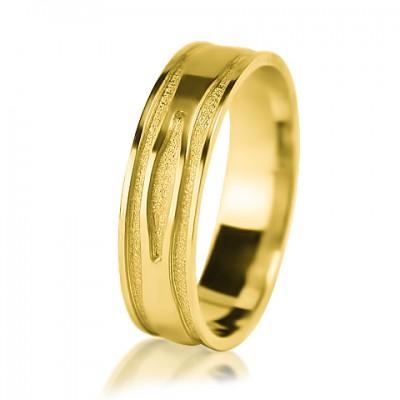 Мужское обручальное кольцо 350-2V013