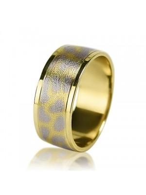 Мужское обручальное кольцо 350-2V022