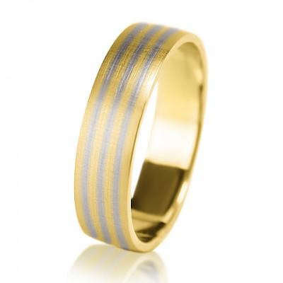 Мужское обручальное кольцо 350-2V030