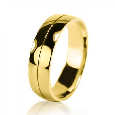 Мужское обручальное кольцо 350-2V032