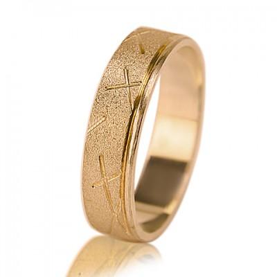 Мужское обручальное кольцо 450-2F002