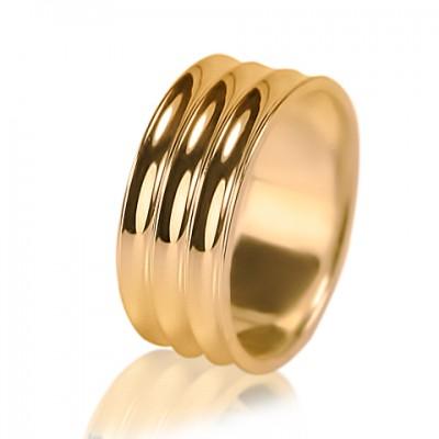 Мужское обручальное кольцо 450-2F010