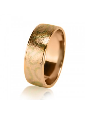 Мужское обручальное кольцо 450-2V033