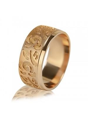 Women's wedding ring with diamond 451-2V024