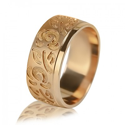 Женское обручальное кольцо с бриллиантом 451-2V024
