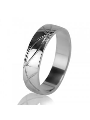 Мужское обручальное кольцо 550-2F001