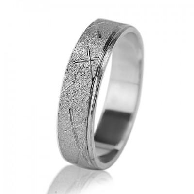 Мужское обручальное кольцо 550-2F002