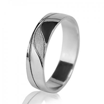 Мужское обручальное кольцо 550-2F003