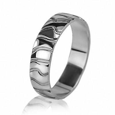 Мужское обручальное кольцо 550-2F008