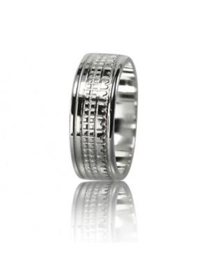 Мужское обручальное кольцо 550-2F011