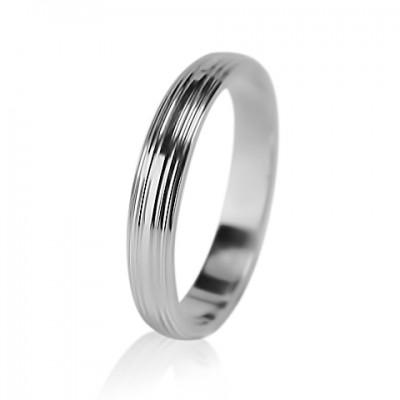 Мужское обручальное кольцо 550-2F016