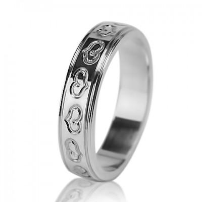 Женское обручальное кольцо 550-2L001