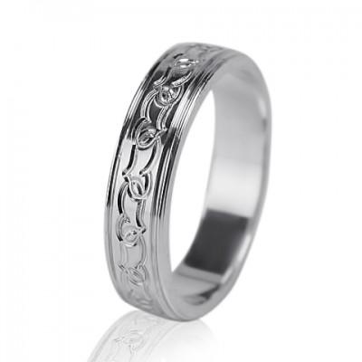 Женское обручальное кольцо 550-2L002