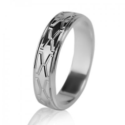 Женское обручальное кольцо 550-2L003