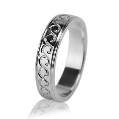 Женское обручальное кольцо 550-2L007