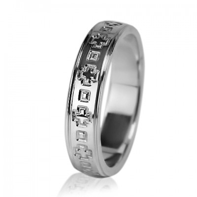 Женское обручальное кольцо 550-2L008