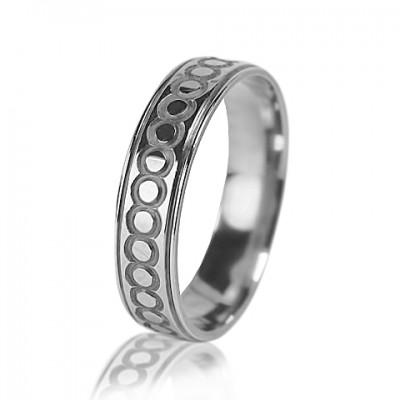 Женское обручальное кольцо 550-2L017