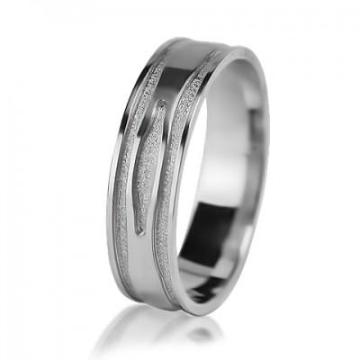 Мужское обручальное кольцо 550-2V013