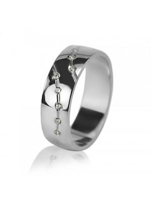 Кольцо с бриллиантом женское 551-2F006