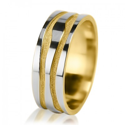 Женское обручальное кольцо 650-2V001