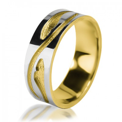 Женское обручальное кольцо 650-2V012