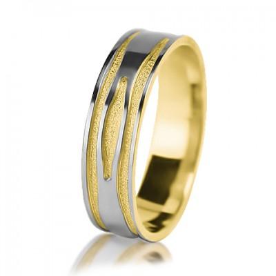 Мужское обручальное кольцо 650-2V013