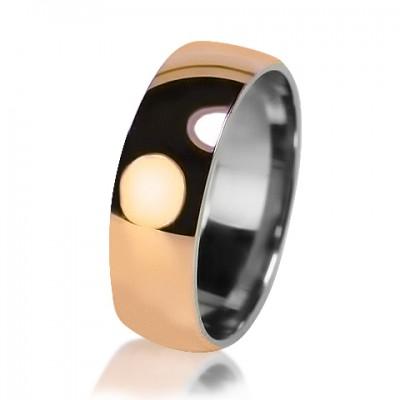 Мужское обручальное кольцо 750-2V014